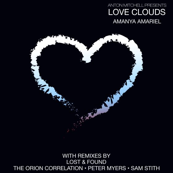 Amanya Amariel - Love Clouds Artwork