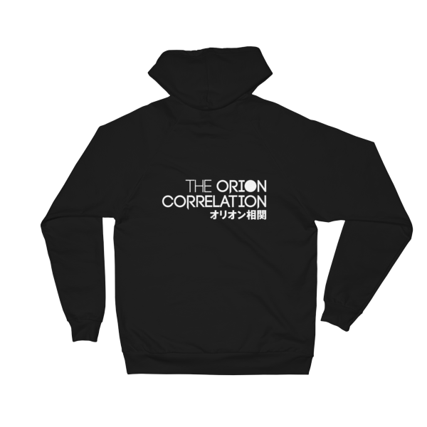 Unisex Fleece Hoodie (White Logo on Back) 1